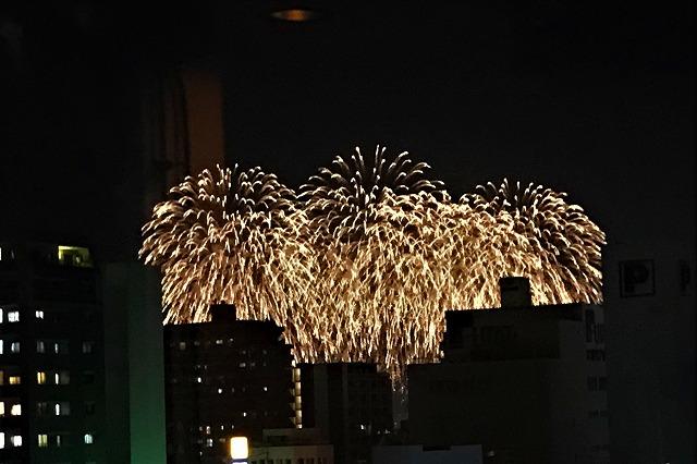 花火も見える 久留米市 スナック ブリリアント
